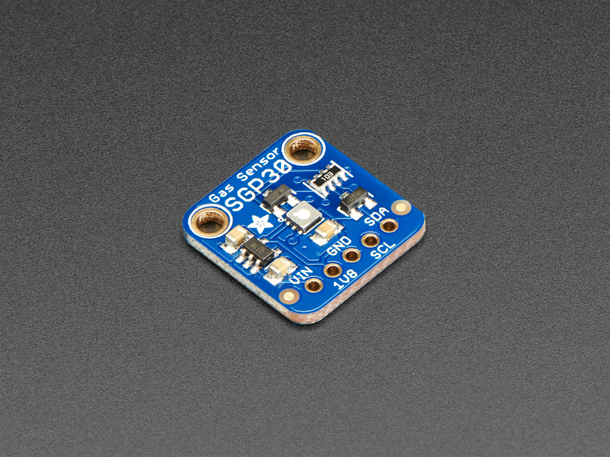The SGP30 breakout board by Adafruit